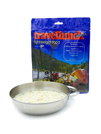 Сублимированная еда Travellunch Паста Pasta in a Creamy Sauce with Herbs 125 г, фото 2