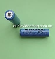 Литий-ионный аккумулятор Bossman 1800 mAh 3.7V 18650 Li-ion