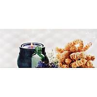 Плитка Атем настенная облицовочная Atem Sote (Сотэ) 1 Lavender 200х500 белая