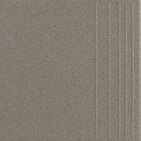 Плитка Атем Пименто для пола Atem Pimento 0601 ступень 300х300 (грес керамогранит темно-серый)