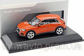 Масштабна модель Audi Q3, Pulse Orange, Scale 1:43