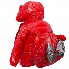 Детская демисезонная куртка для девочки с рюкзачком, размеры 90-130, фото 2