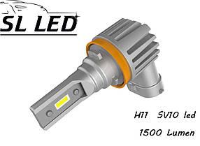Комплект Led ламп серии SV10,  цоколь H8, H11, H9  13W-CSP led 6000K
