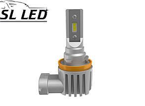 Комплект Led ламп серии SV10,  цоколь H8, H11, H9  13W-CSP led 6000K, фото 2