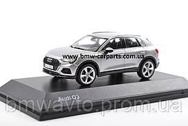 Масштабна модель Audi Q3, Floret Silver, Scale 1:43