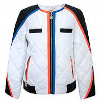Детская демисезонная куртка для девочки от Anernuo, размеры 130-170