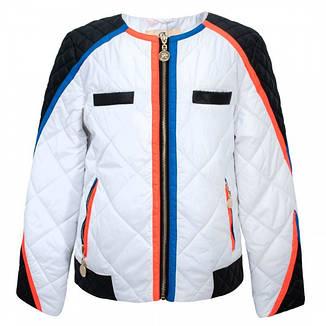 Детская демисезонная куртка для девочки от Anernuo, размеры 130-170, фото 2