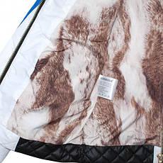 Детская демисезонная куртка для девочки от Anernuo, размеры 130-170, фото 3