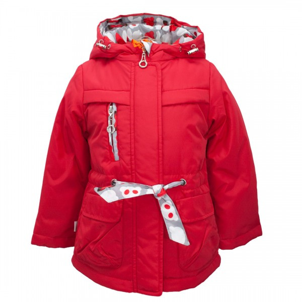 Детская демисезонная куртка для девочки, размеры 86-122