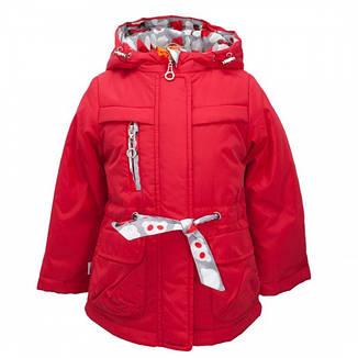 Детская демисезонная куртка для девочки, размеры 86-122, фото 2