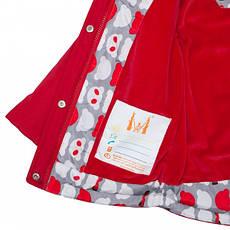 Детская демисезонная куртка для девочки, размеры 86-122, фото 3