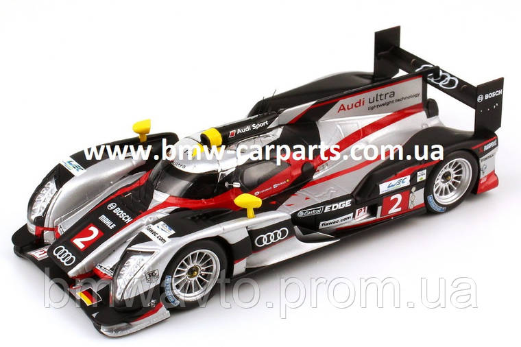Модель автомобиля Audi R18 TDI Sebring 2012 Start No. 2, Scale 1:43, фото 2