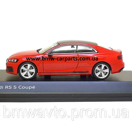 Модель автомобиля Audi RS 5 Coupé, Misano Red, Scale 1:43, фото 2