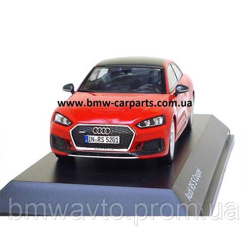 Модель автомобиля Audi RS 5 Coupé, Misano Red, Scale 1:43, фото 3