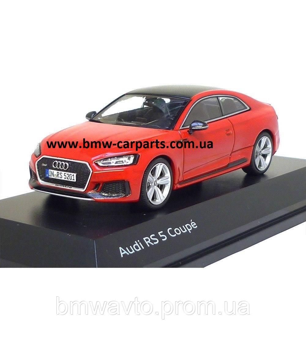 Модель автомобиля Audi RS 5 Coupé, Misano Red, Scale 1:43