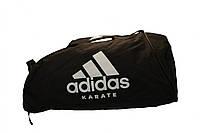 Сумка adidas CC055K. Цвет черный, белый логотип карате., фото 1