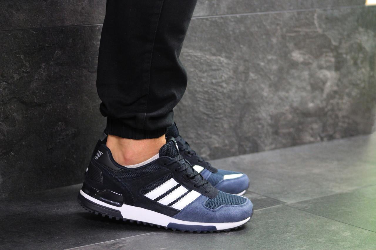 buy popular 7417f 2f918 Мужские кроссовки Adidas ZX 700 темно-синие