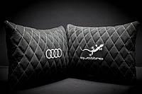 Автомобильные подушки из Алькантара