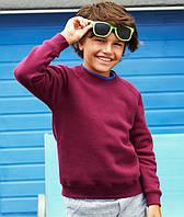 Детский свитер толстовка реглан Fruit of the Loom 62-039-0