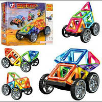 Детский Магнитный конструктор LT3001 Транспорт Creativity (32 дет )