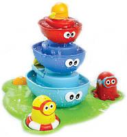 Игрушка для ванной Водопад кораблики-пирамидка D 40115