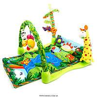 Детский музыкальный коврик 3059 Тропический лес