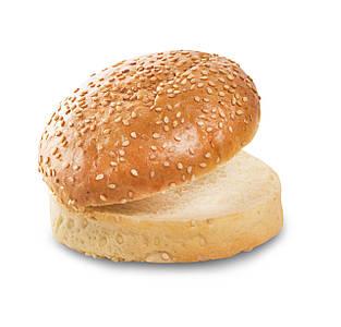 Булочка для гамбургера крафтовая 0,06 кг