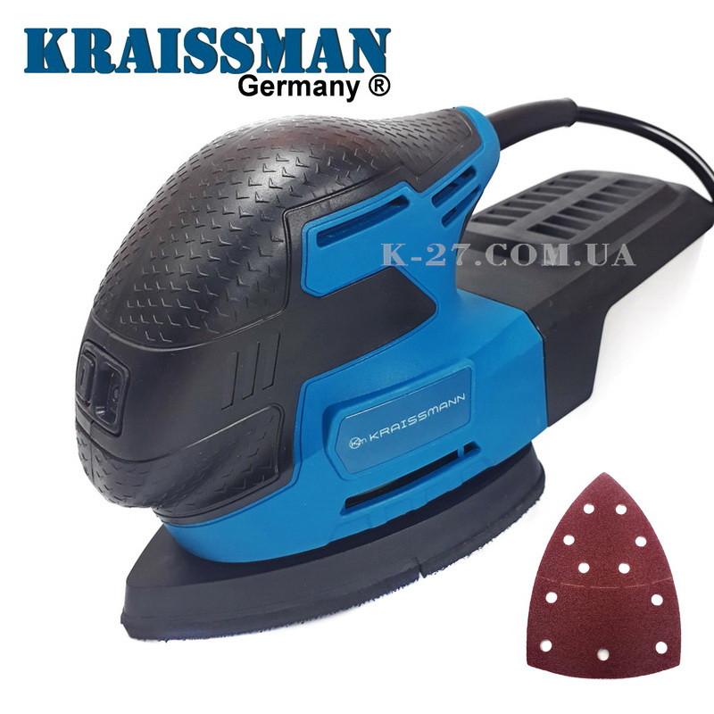 Дельташлифовальная машина Kraissmann 220 MS 13