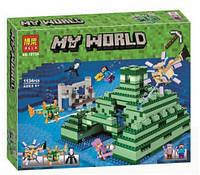 Конструктор BELA 10734 Подводный храм 1134дет (аналог LEGO 21136 Minecraft)