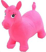 Надувной Прыгун-лошадка MS 0001Red (Розовый)