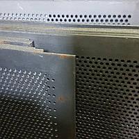 Решето ДДМ, ячейка 3 мм, толщина 2 мм, лист  500 х 1574 мм.