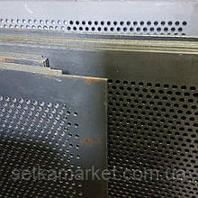 Решето ДДМ, ячейка 4 мм, толщина 2 мм, лист  500 х 1574 мм.