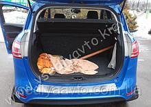 Накладка на бампер с загибом для Ford B-Max с 2012 г. (NataNiko)