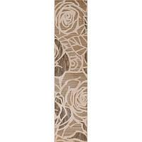Плитка Атем Бейж настенная фриз Atem Beige Flowers BC 140 х 595 мм