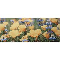 Плитка Атем настенная облицовочная Atem Yalta Flower (Ялта) YL 200х500 желтая