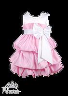 Эффектное платье для девочки с бантом, фото 1