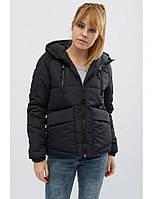 """Женская демисезонная куртка """"Memory"""" черная, фото 1"""