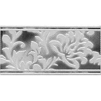 Плитка Атем Бланко настенная фриз Atem Blanco Ozon W 275 х 146 мм