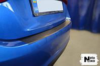 Пленка защитная на бампер с загибом для BMW X1 с 2009 г. (NataNiko)