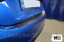 Пленка защитная на бампер с загибом Mazda 3 III седан с 2013 г. (NataNiko)