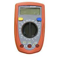 Мультиметр с подсветкой, цифровой тестер, DT33B, измеритель напряжения, тока, сопротивления
