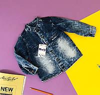 Рубашка джинсовая  на мальчика.  От 2 до 5 лет