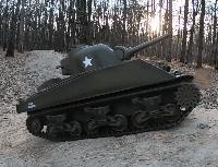 Танк на радиоуправлении Шерман Sherman HENG LONG 3898-1 M4A3. Суперподарок!, фото 1