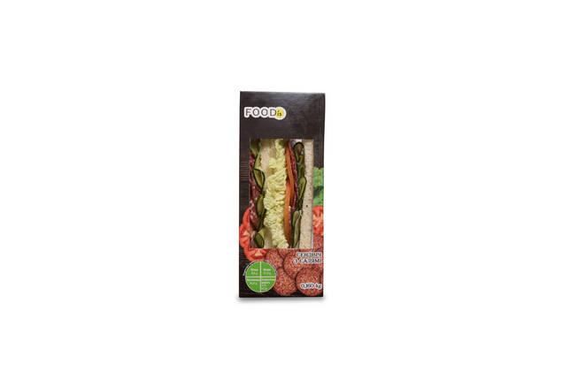Сэндвич с салями, фото 2