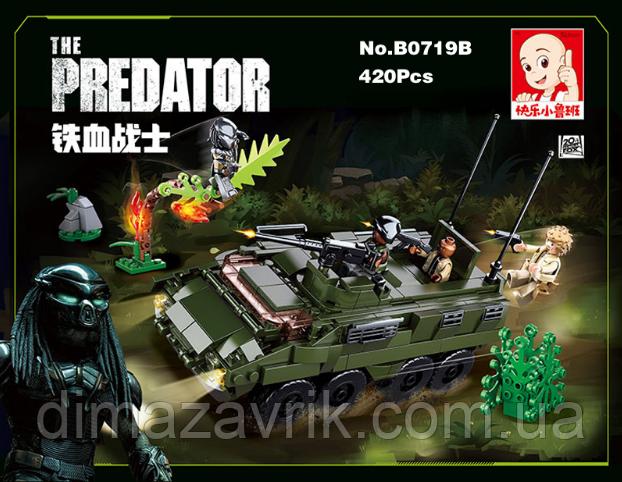 """Конструктор SLUBAN M38-B0719B """"Охота на хищника"""" 420 деталей"""