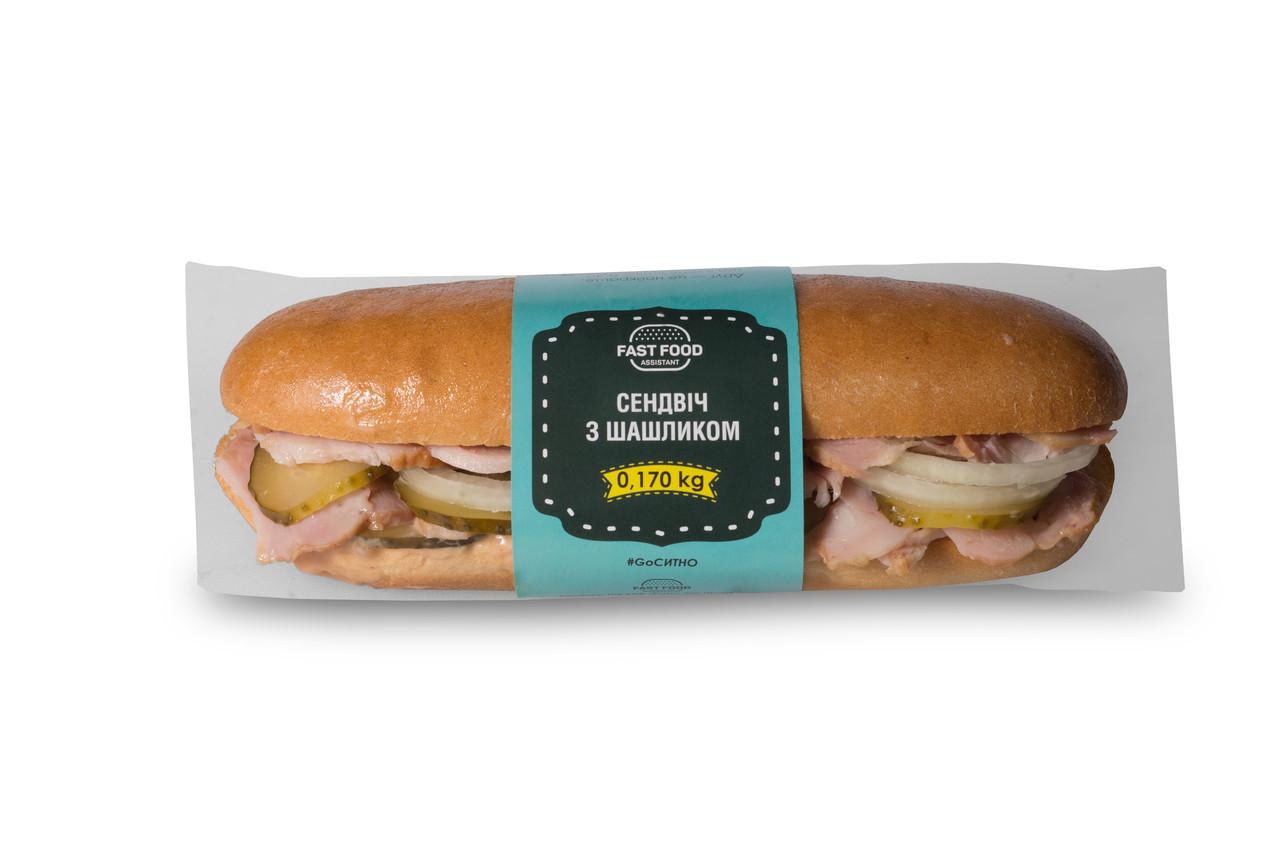 Сендвіч з шашликом