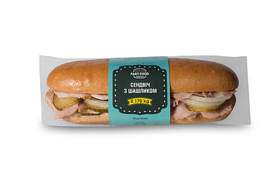 Сэндвич с шашлыком