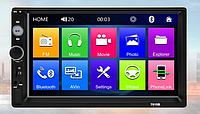 """Автомагнитола 2 Din экран 7""""сенсор+Bluetooth,USB,магнитола"""