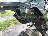 Прямоточный глушитель (прямоток) Akrapovic Hexagonal Carbon на мотоцикл, фото 8