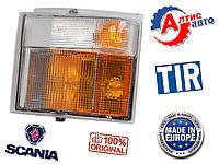 Поворотник Scania 4, P,G,R,T указатель поворота scania оптика для автомобилей фонарь фары габаритный скания